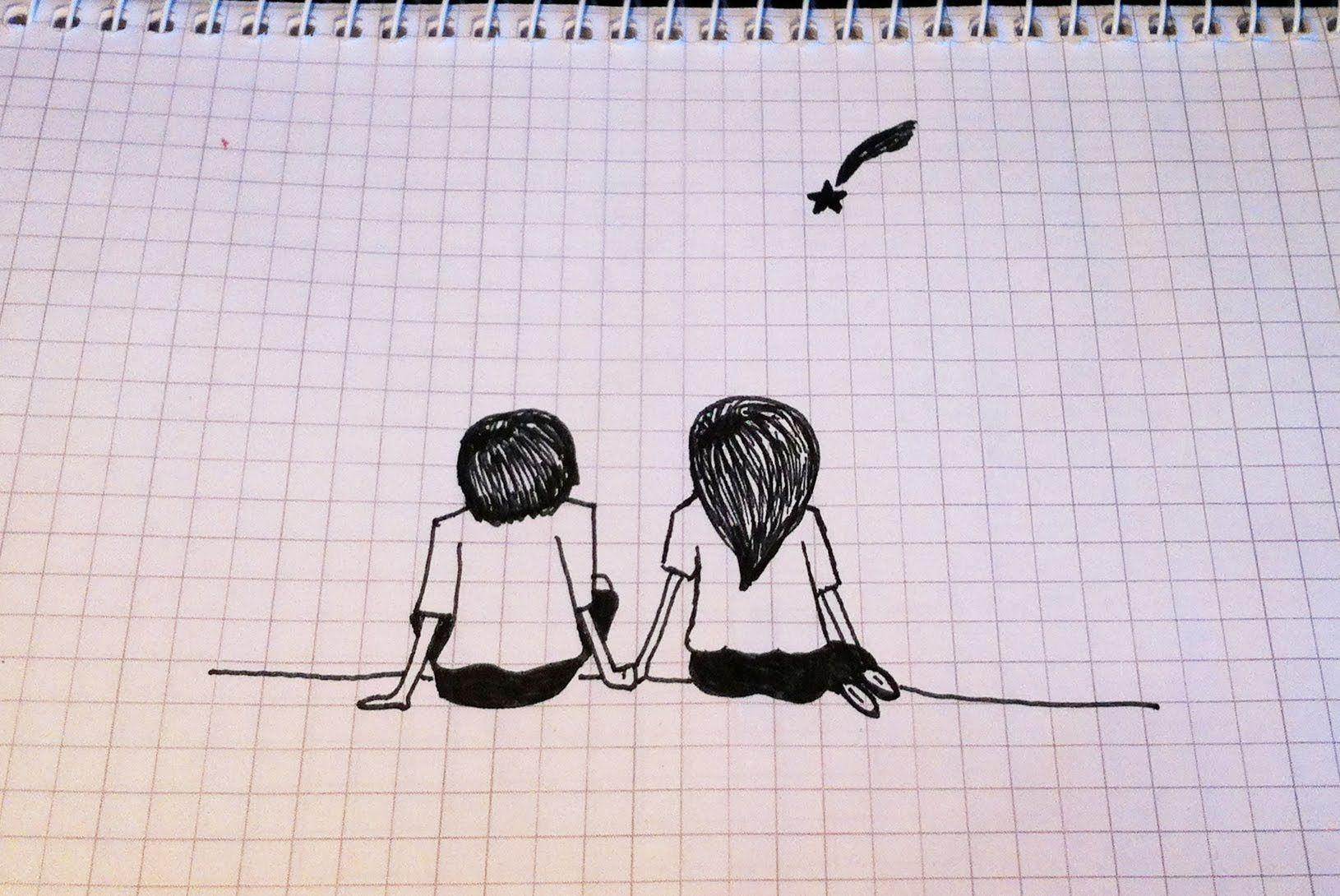 Самые простые рисунки ручкой, днем рождения доченьки