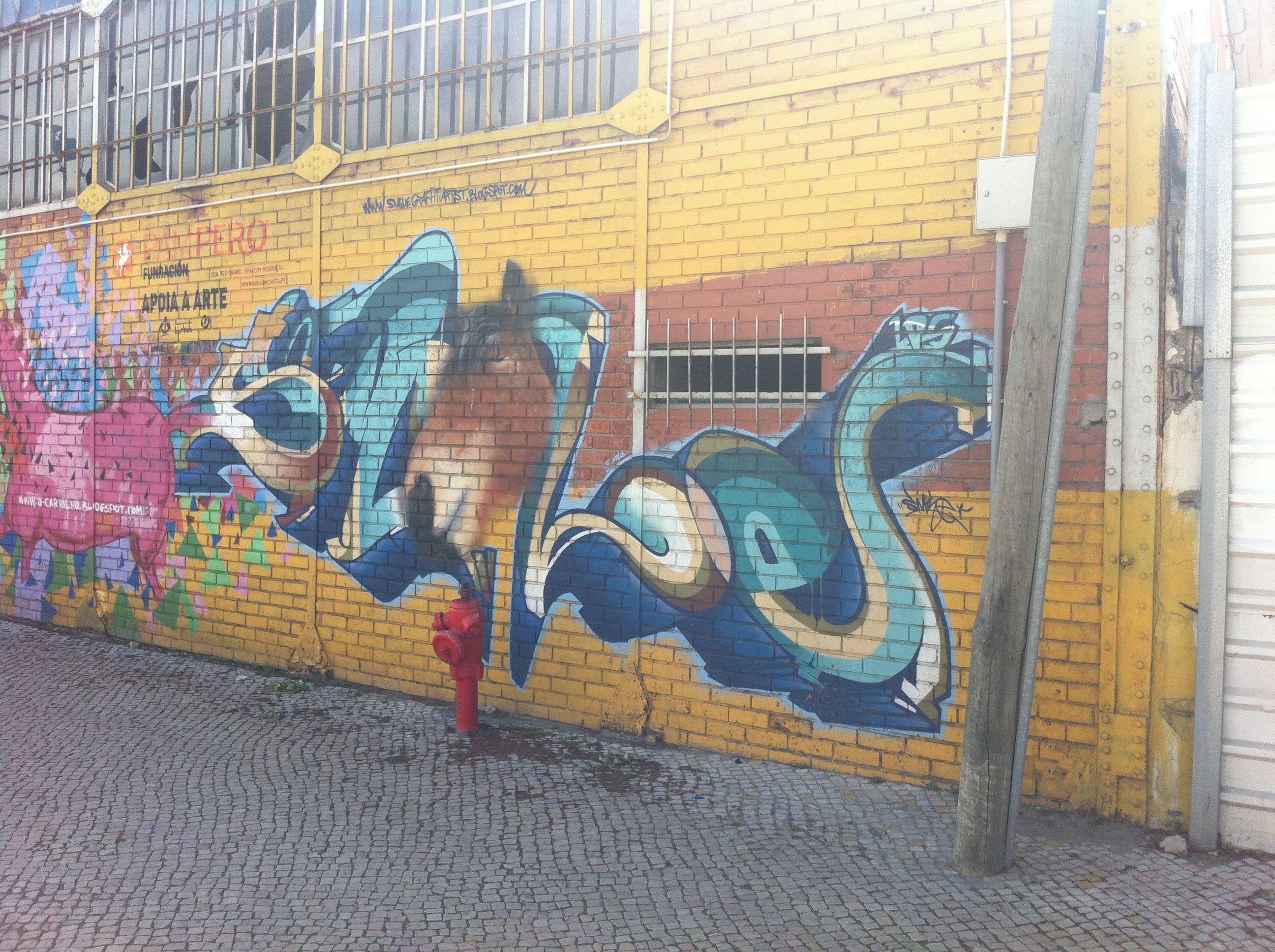 StreetArt/ Graffiti - Lisbon, Portugal ©Photo : Antoine Giordani