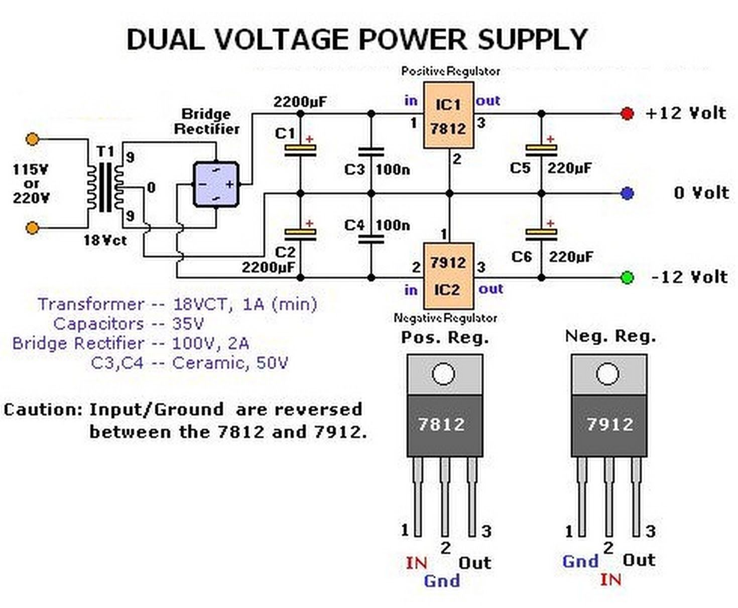 Dual Voltage Power Supply