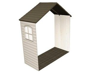 """Lifetime 6424 30"""" Shed Extension Kit With Window For 8 Ft Sheds"""