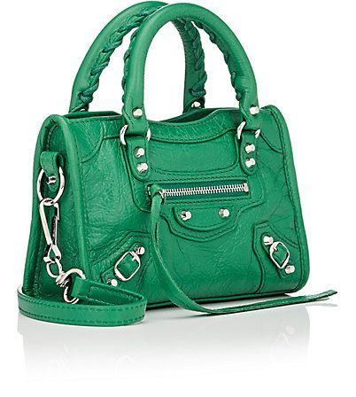 45b8ccafb8cd Balenciaga Arena Leather Classic Nano City Bag - Mini - 504858634 ...