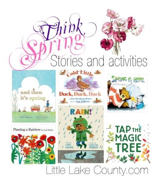 Spring Books and Activities from @Vernon Area Library