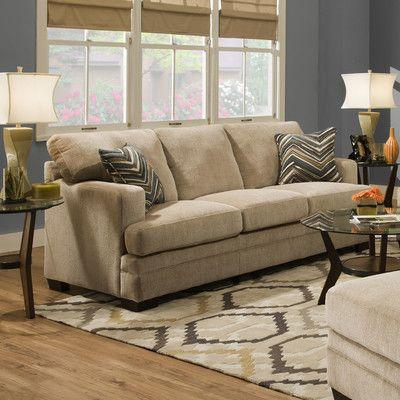 Simmons Upholstery Sassy Barley Sleeper Sofa