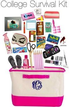 College Girl's Survival Kit   graduation party   High ...