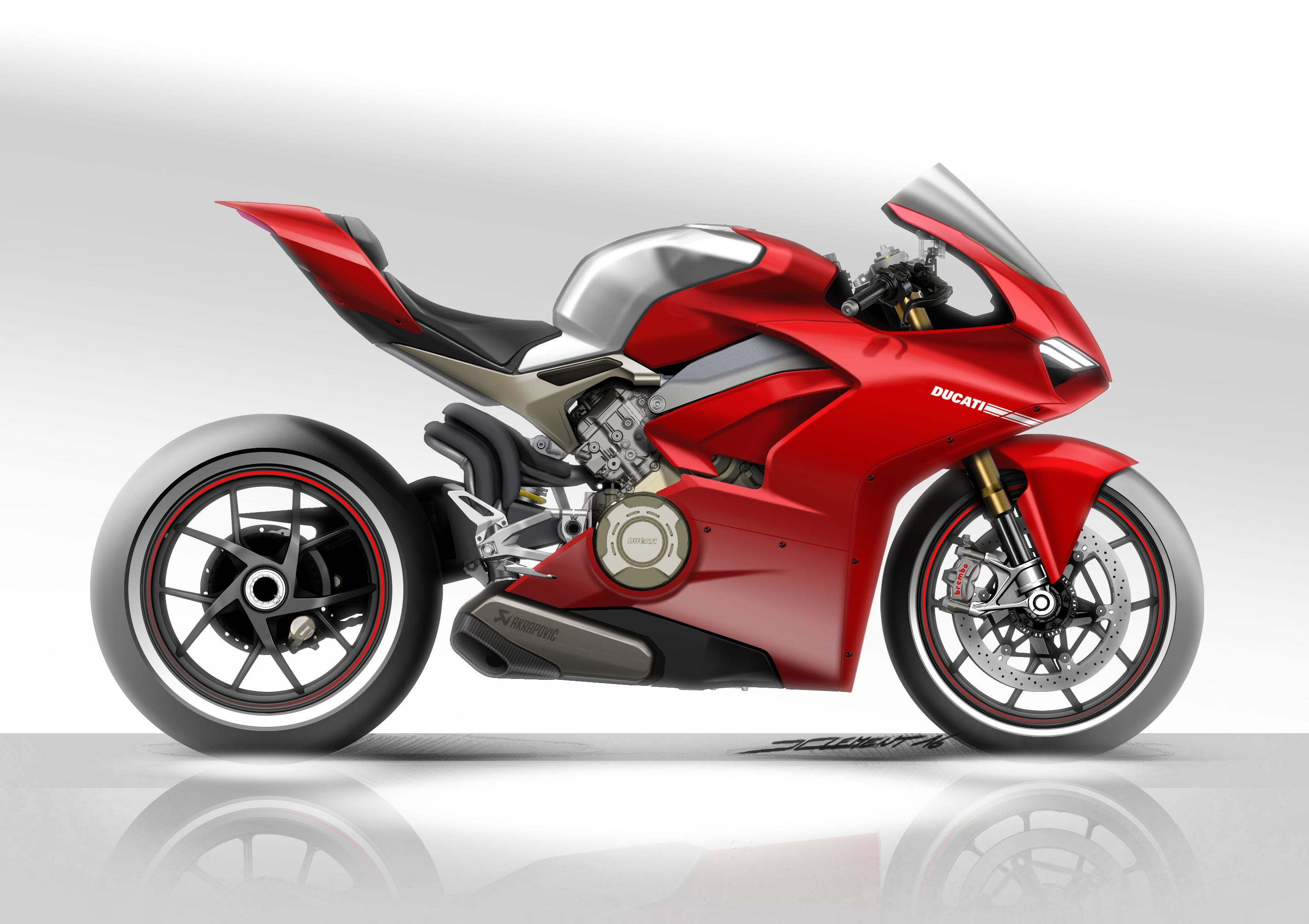 ducati panigale v4 2018 design sketch ducati pinterest ducati and wheels. Black Bedroom Furniture Sets. Home Design Ideas