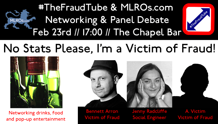 Join #TheFraudTube and MLROs.comfor Our First Networking Event of 2017 We will be kicking off the year in style, this is your ticket to a unique event which will feature a mix of networking, an in…