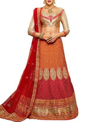 Check out what I found on the LimeRoad Shopping App! You'll love the red crepe bridal lehenga. See it here http://www.limeroad.com/products/11484026?utm_source=c94e1578cf&utm_medium=android