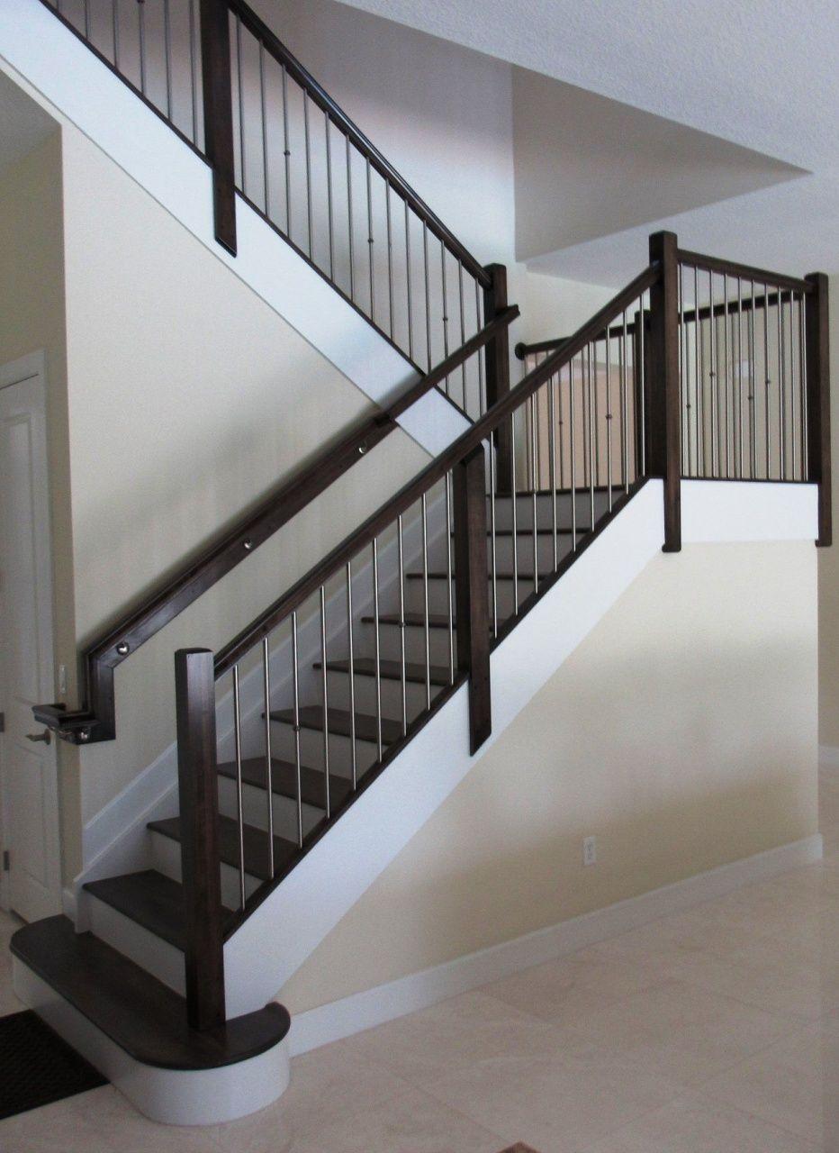 Home Depot Iron Railing In 2020 Stair Railing Design Interior | Modern Stair Railing Home Depot | Iron Stair | Deck Railing | Railing Kits | Cable Railing Systems | Railing Designs
