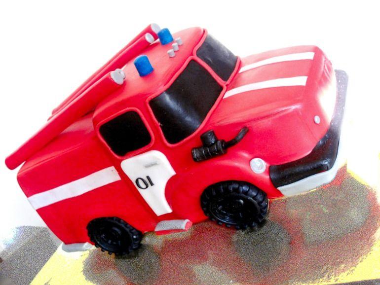 фотограф торт пожарная машина фото используют для