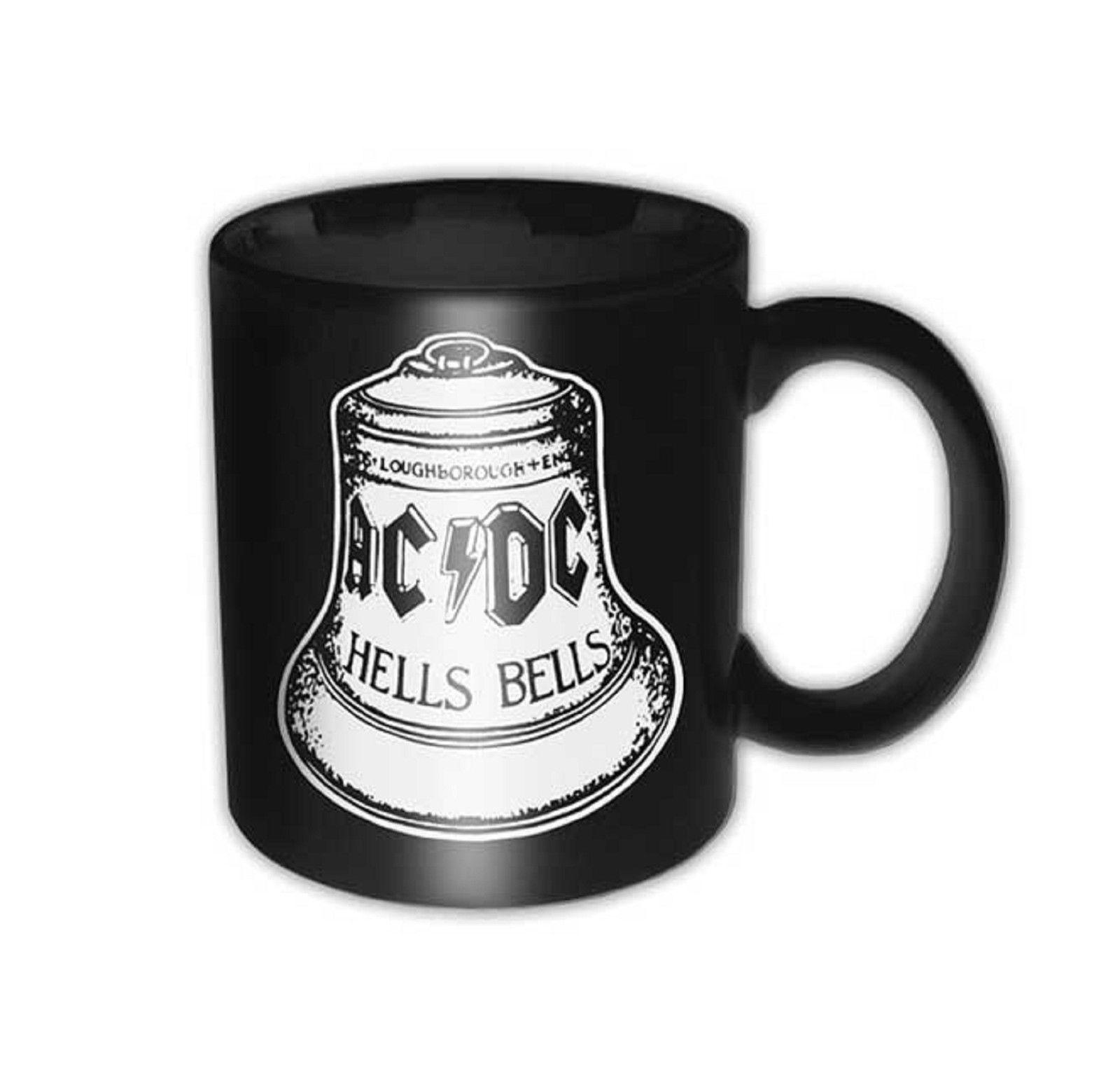 AC/DC Mug Back In Black Circle band logo new Official