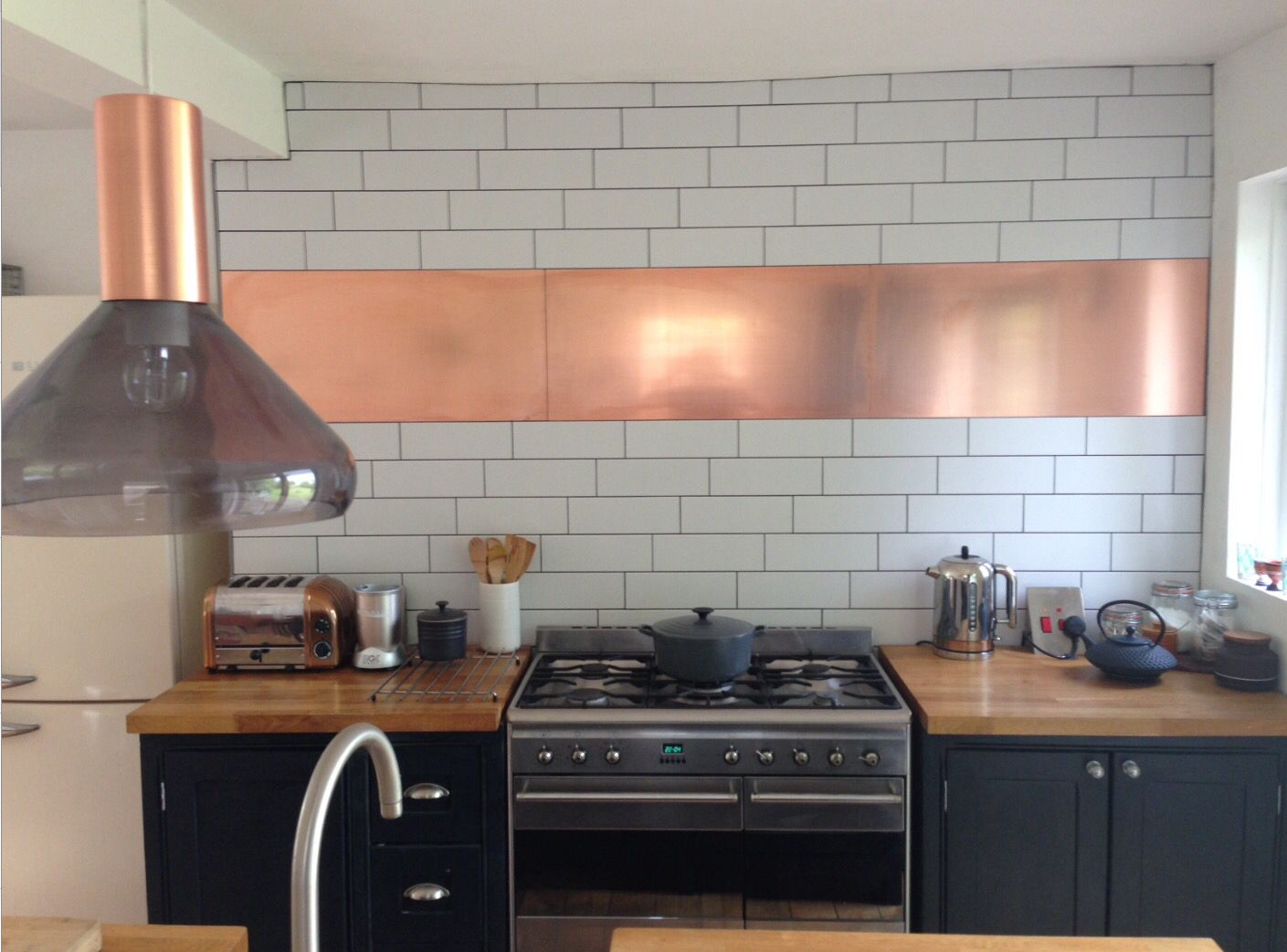 Best Kitchen Painted In Railings Farrow And Ball Metro Tiles 640 x 480