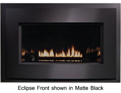 Empire Loft Direct Vent Gas Fireplace Insert With Intermittent Pilot 27 000 Btu Direct Vent Gas Fireplace Vented Gas Fireplace Insert Gas Fireplace Insert