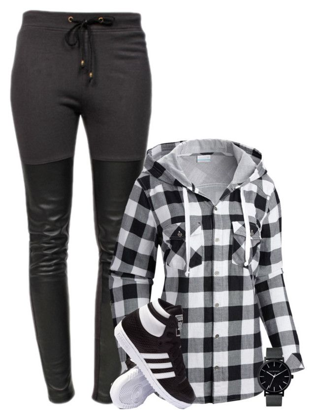 """""""Cosy"""" by danigrll ❤ liked on Polyvore featuring Ragdoll, Columbia, adidas and The Horse"""
