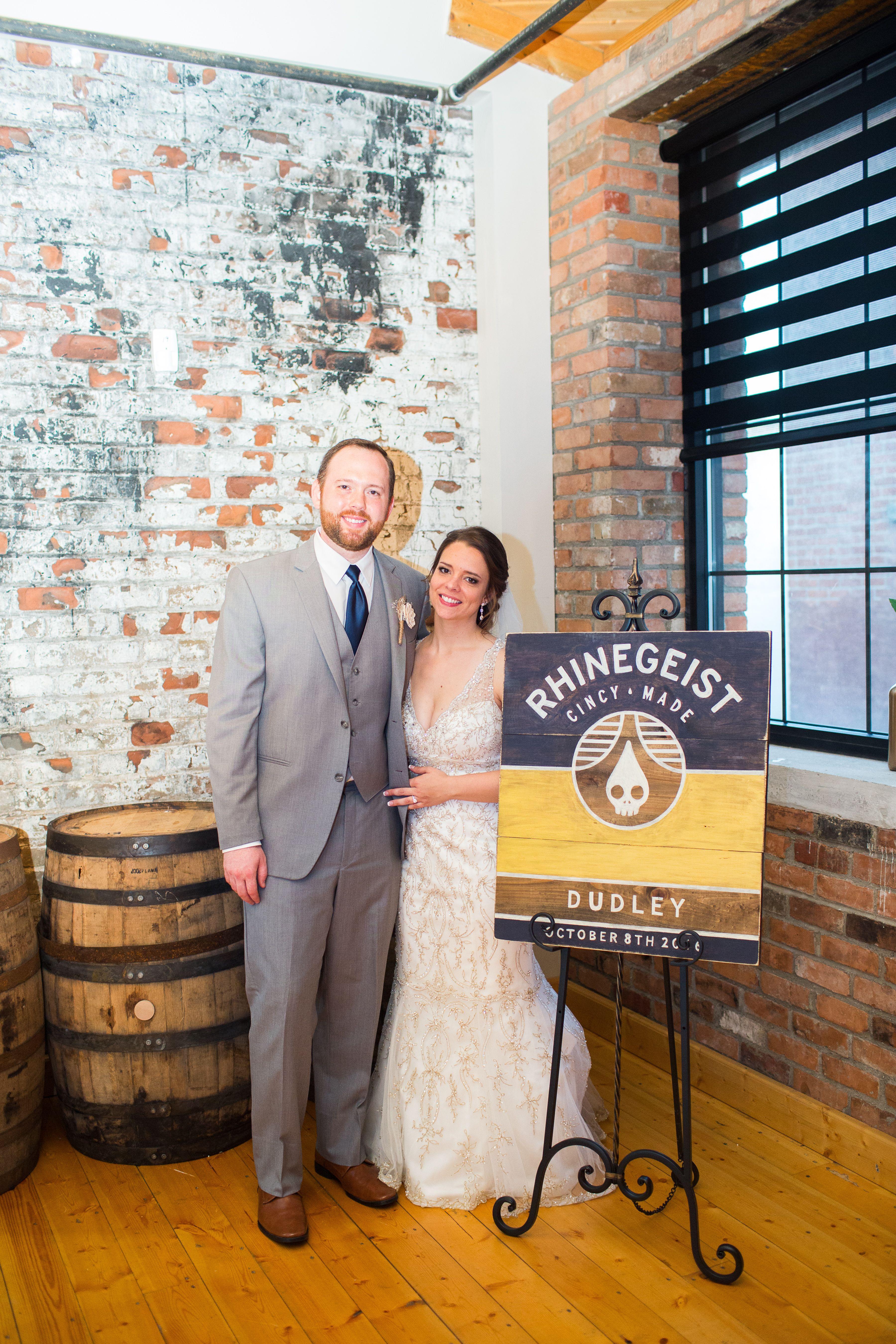 Rhinegeist Brewery - Rhinegeist Wedding - Fyrefly Photography