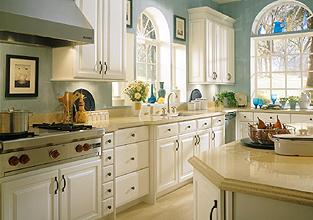 Schrock Thermofoil Kitchen remodel, Kitchen