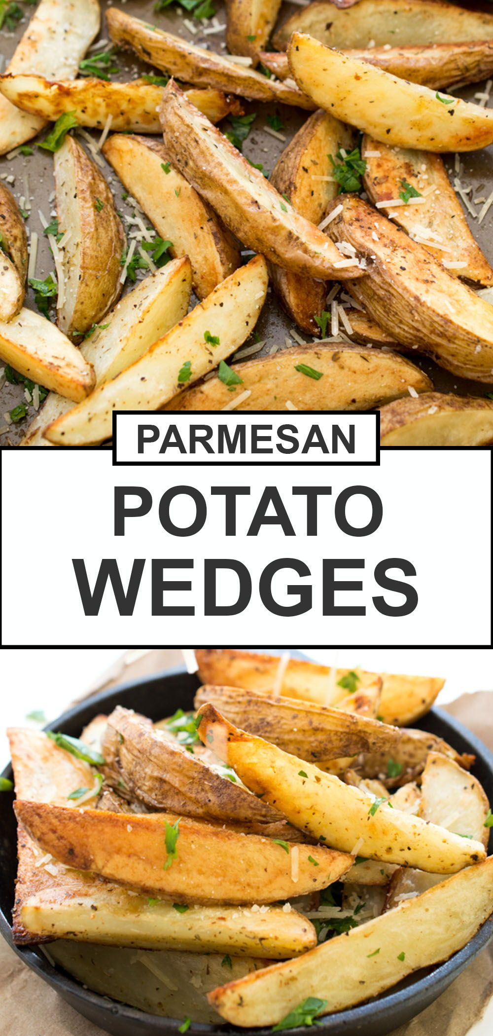 Photo of Baked Parmesan Potato Wedges (Easy Side Dish!) – Chef Savvy