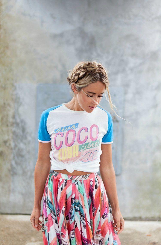 Coco Cuba La Camiseta Que Todas Quieren Camisetas Ropa Camisetas Chanel