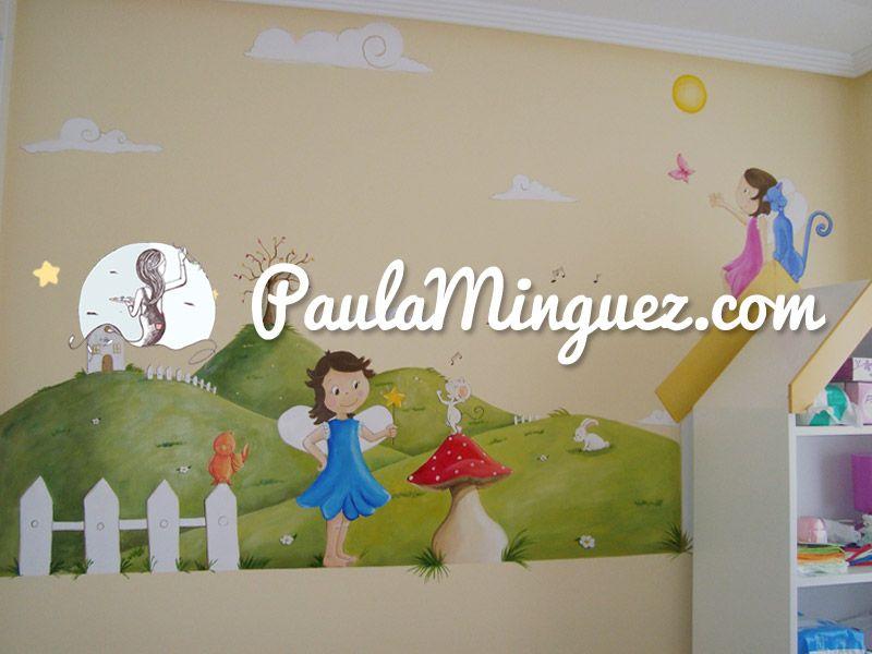 Todo lo que necesitas saber sobre murales infantiles para - Murales infantiles pintados a mano ...