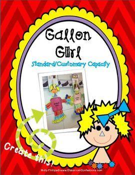 Measurement Activity: Gallon Girl