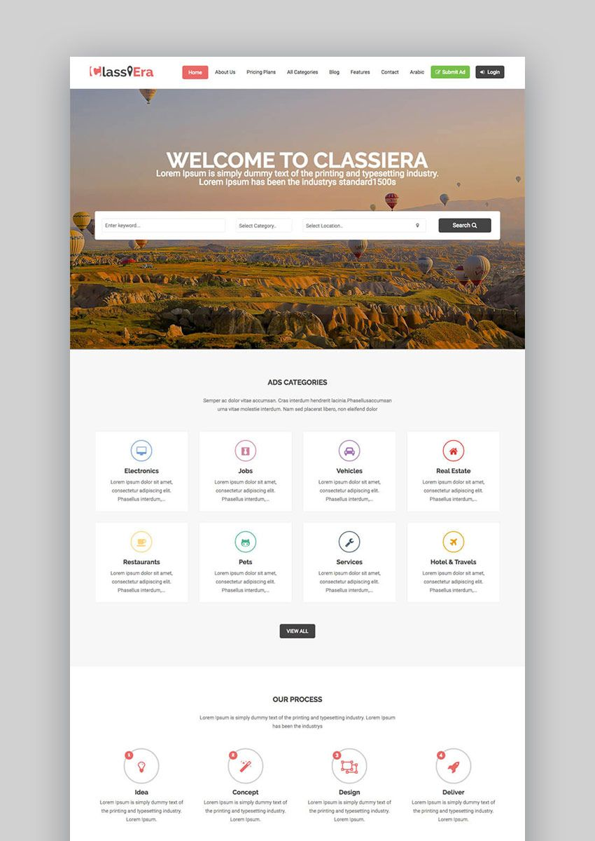 The Glamorous 25 Best Wordpress Directory Themes To Make Business In Business Listing Website Template Pictu Website Template Wordpress Template Make Business