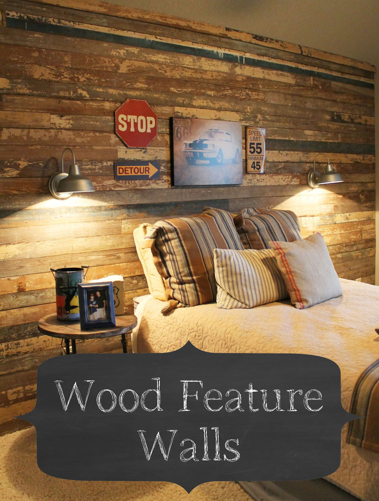 Best Wood Feature Wall Wood Feature Wall Bedroom Decor 400 x 300