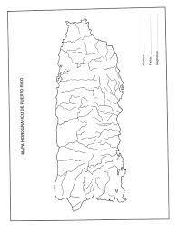 Mapa De Puerto Rico Y Sus Rios Google Search Puerto Rico