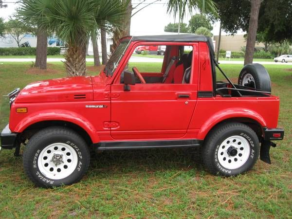 1986 Suzuki Samurai 4x4 Jeep For Sale Show Winner Suzuki