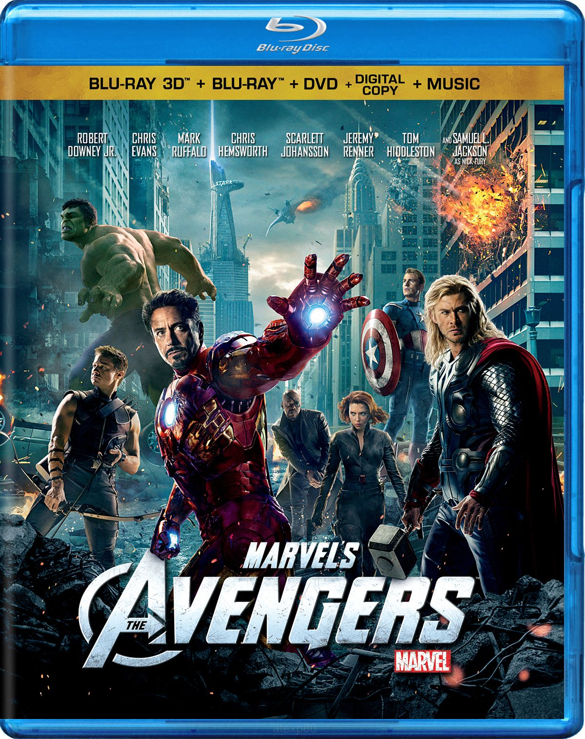 The Avengers 3D Bluray Avengers movies, Avengers movie