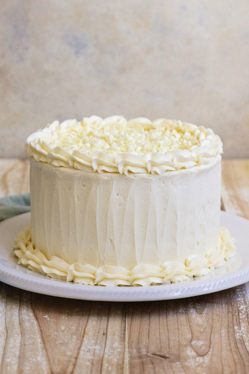 White Wedding Cake Recipe Wedding Cake Recipe Cake Mix Recipes Cake