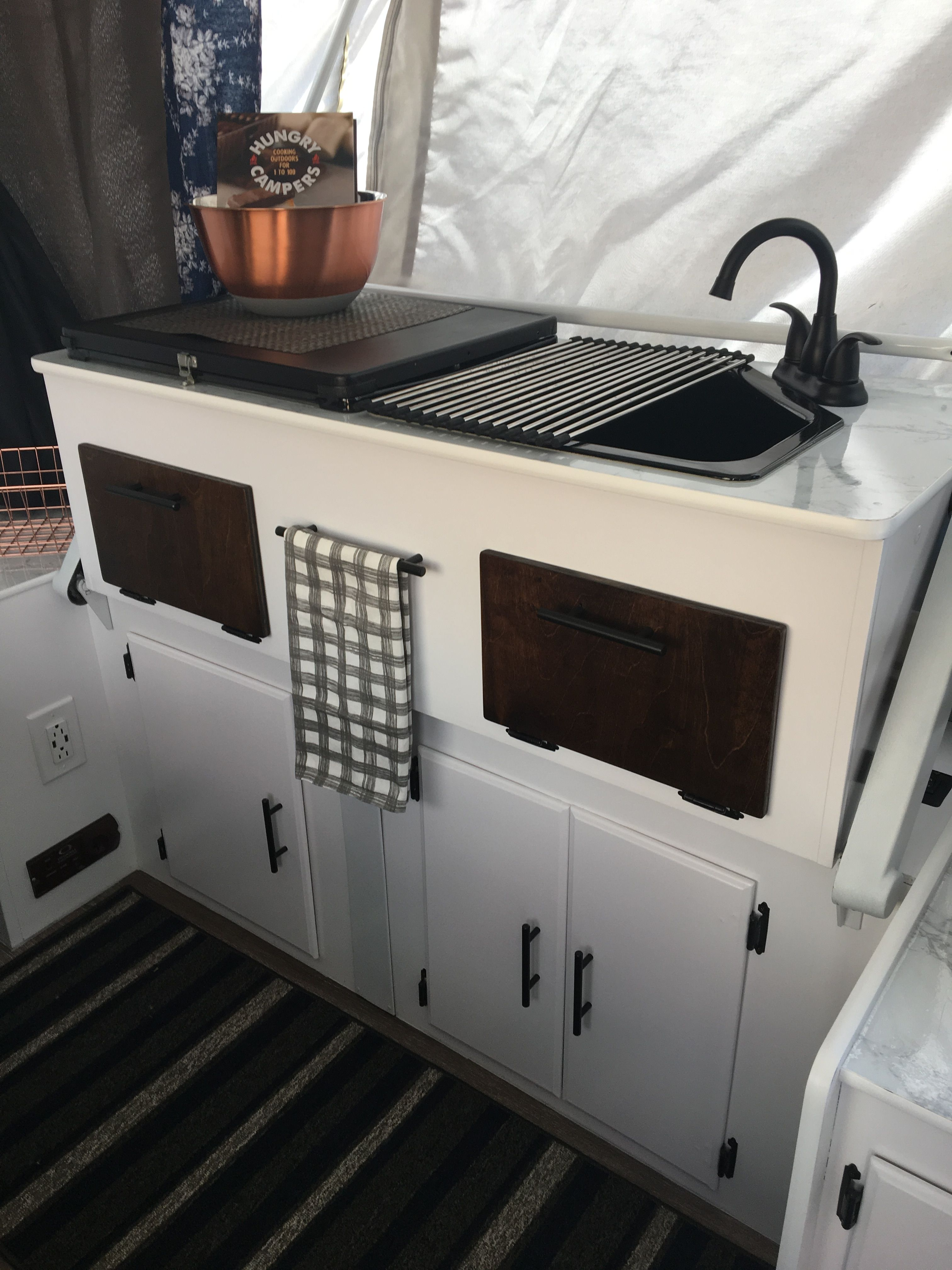 The Galley Kitchen Area In Our 2006 Fleetwood Sun Valley New