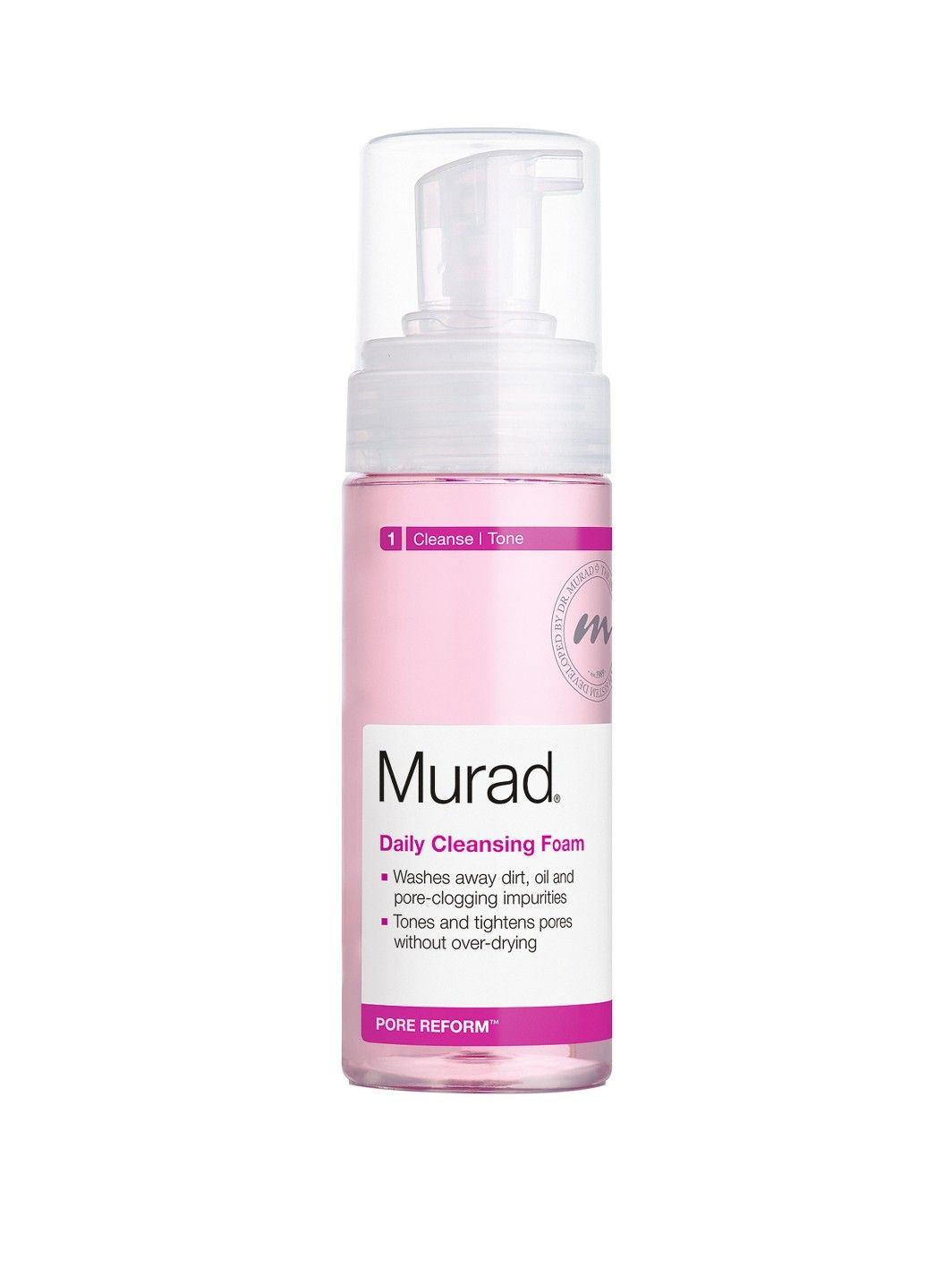 Murad daily cleansing foam good for blackheads and large