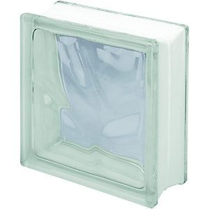 Brilliant Wickes Glass Block Clear 190X190X80Mm Single Wickes Co Uk Download Free Architecture Designs Scobabritishbridgeorg