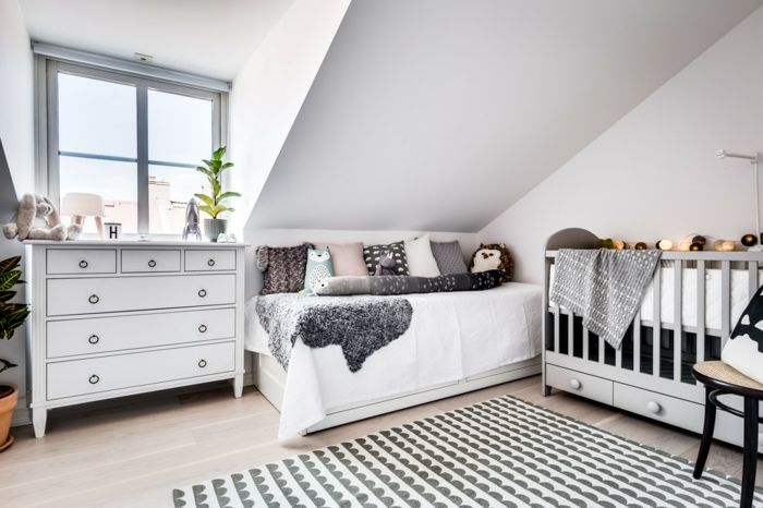 1001 + Ideen für Skandinavische Schlafzimmer Einrichtung