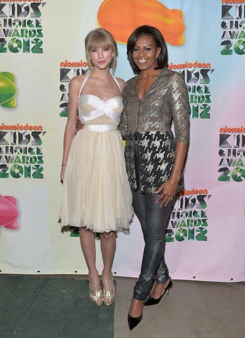 Kids Choice Awards Michelle Obama Fashion Fashion Taylor Swift Style