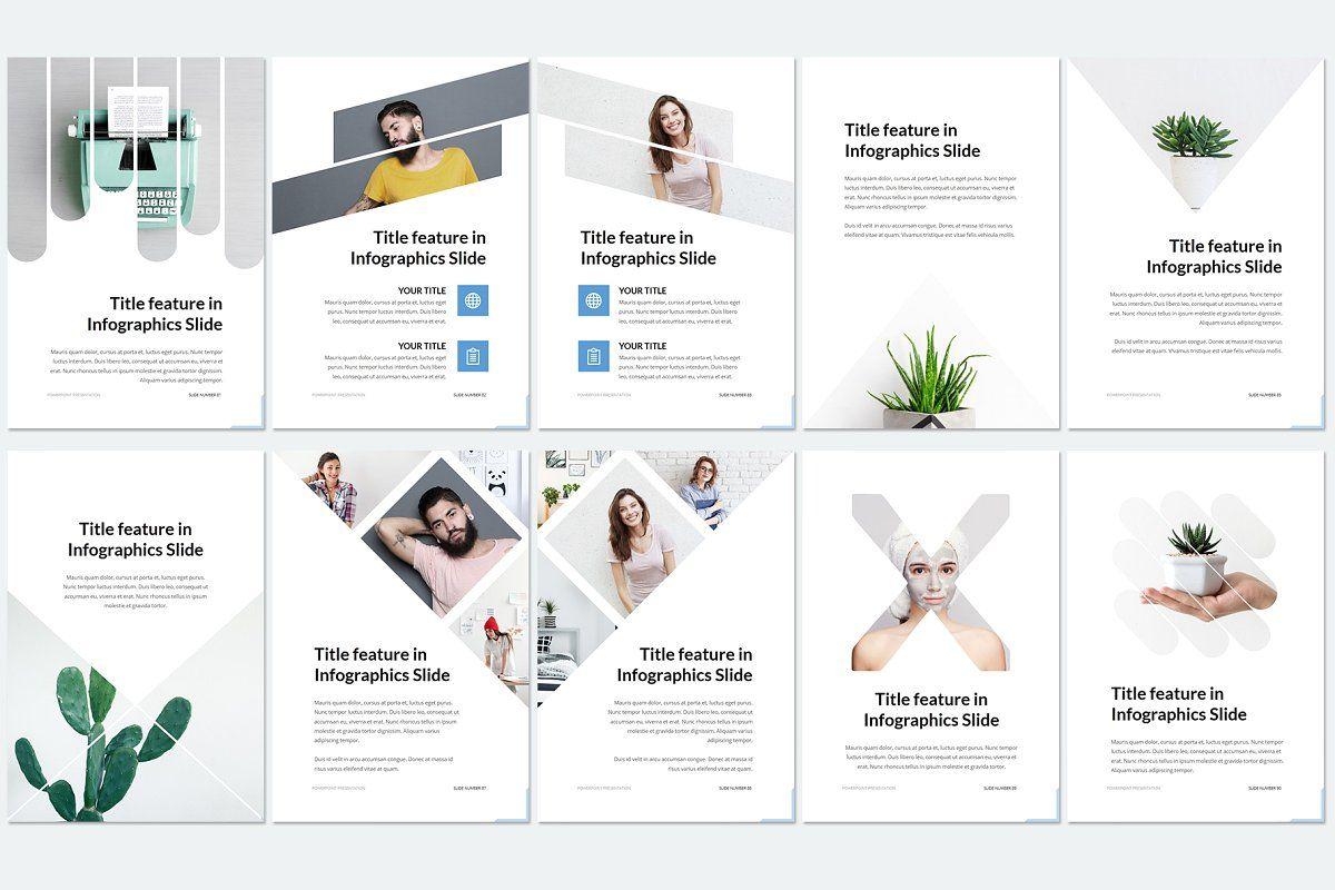 Vertical Keynote Powerpoint Presentation Design Powerpoint Templates Presentation Template Free