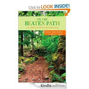 "On the Beaten Path: An Appalachian Pilgrimage  In the thick of a midlife crisis, 38 yr old book editor Rubin decided to quit his job & hike the entire Appalachian Trail. Rubin is the first to point out the selfishness of his whim, which very likely cost him his career & his marriage. Not to mention that Alden was 75 pounds overweight at the beginning of his 2,000-plus-mile hike, ""an athlete gone to seed."" Nonetheless, the author set out, stubbornly walking off years of stress and confusion."