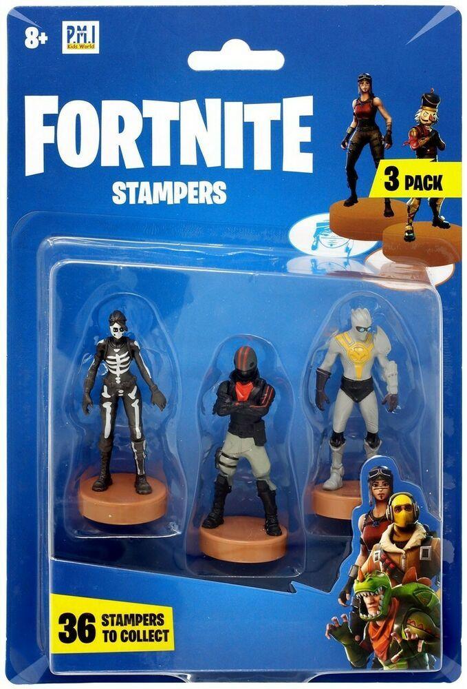 Fortnite Skull Ranger, Burnout & Venturion Stamper 3Pack