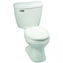 Mansfield 38010017 Summit 3 High Performance Round Toilet Toilet