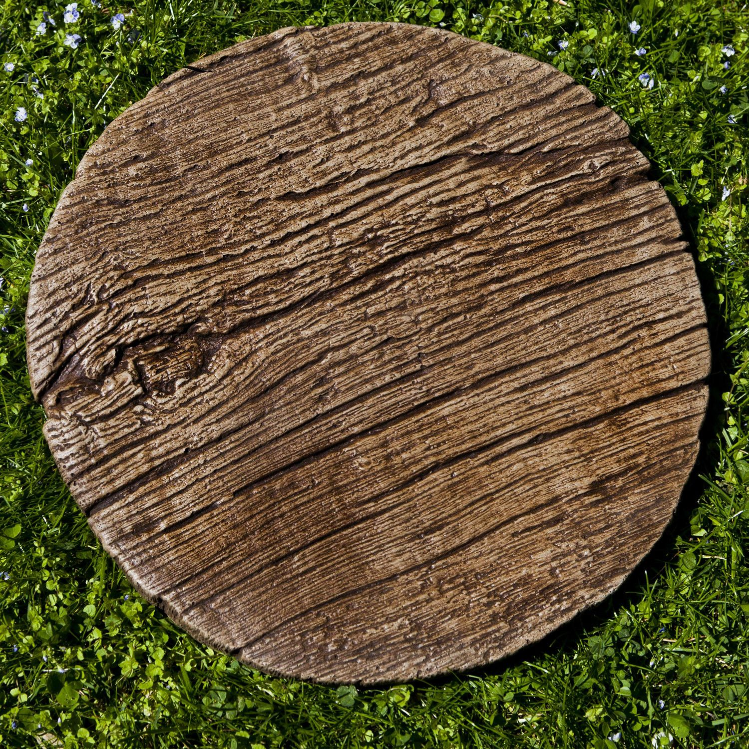 Best Faux Bois Stepping Stone Adoquines Macetas Y Cemento 640 x 480