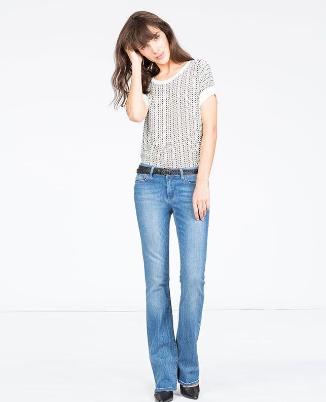 Jeans flare | Jeans et pantalons | Comptoir des Cotonniers