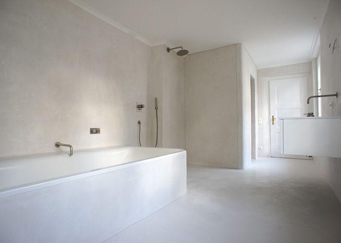 Barteks tadelakt bathroom bäder gäste wc und