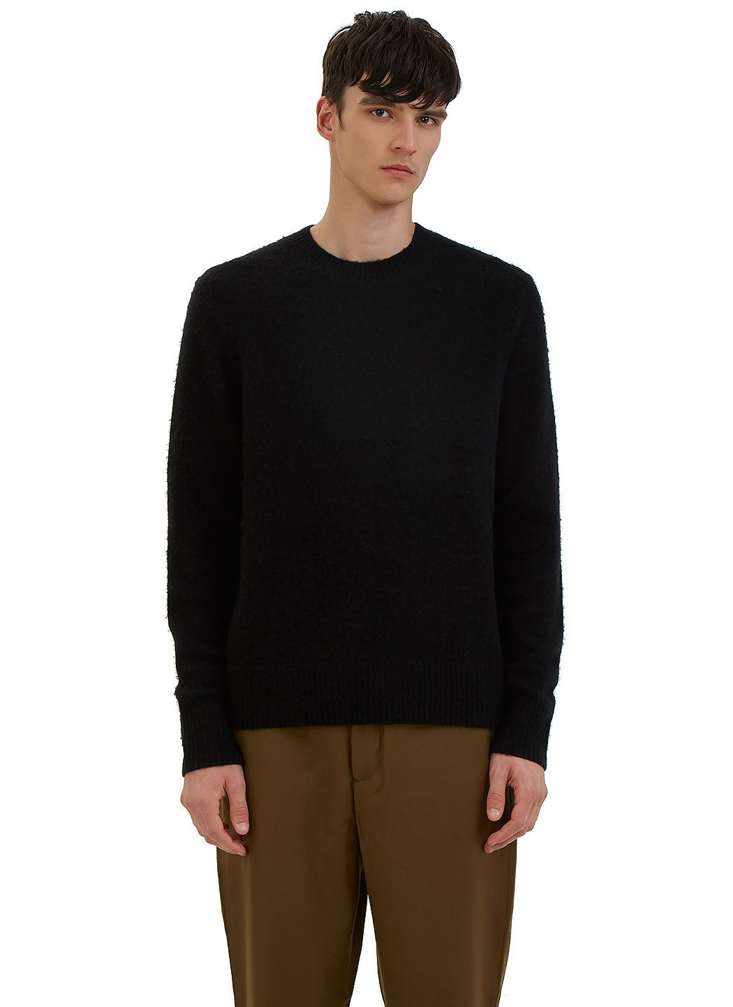 ACNE STUDIOS Men S Peele Cashmere Knit Sweater In Black.  acnestudios  cloth    e2451d85897