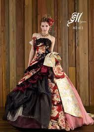 「和柄ドレス」の画像検索結果