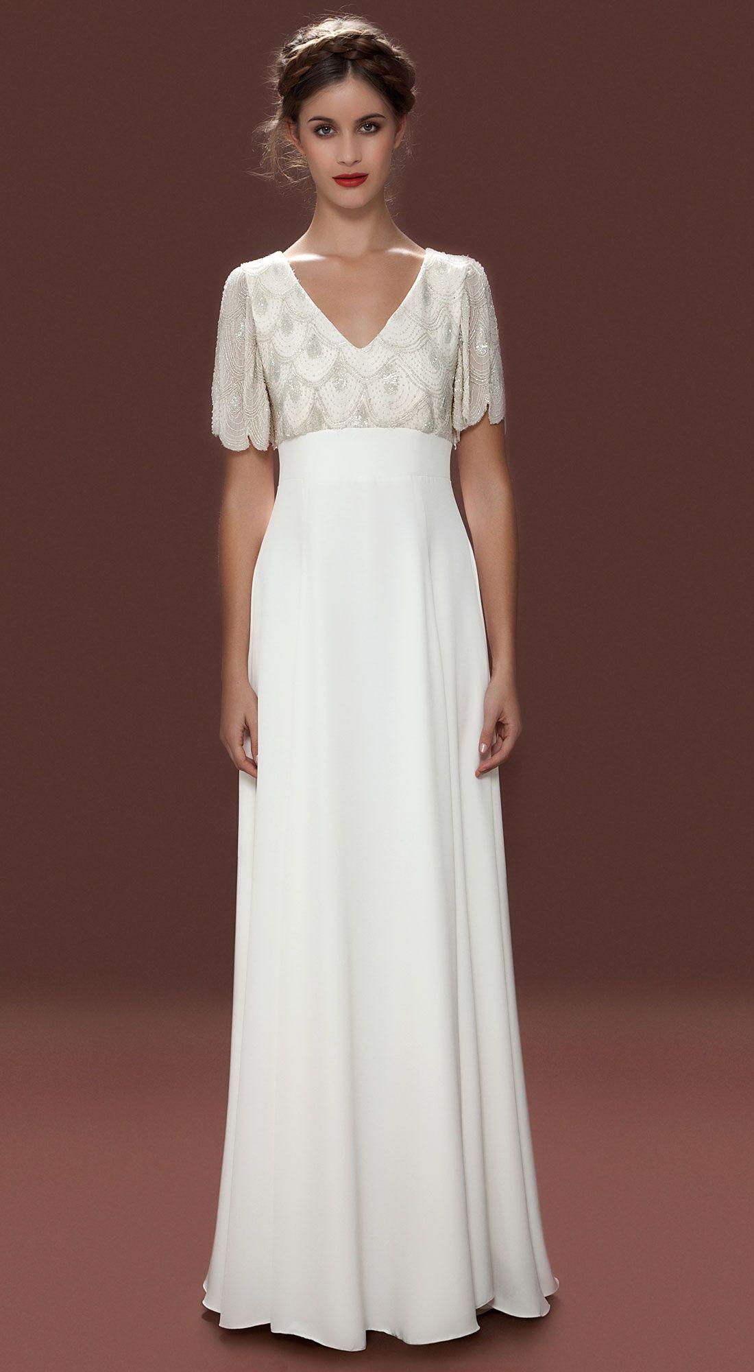 Vintage Style Wedding Dresses Beaded Wedding Dresses Lara Hannah