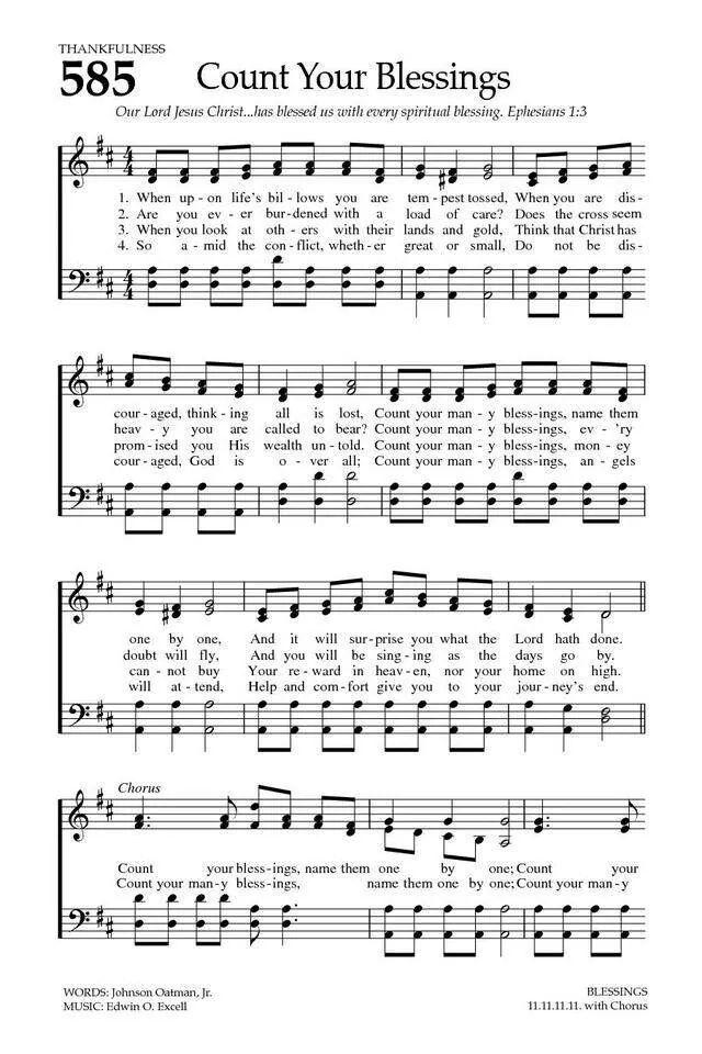 Thankfulness Hymn Sheet Music Hymns Lyrics Hymn Music