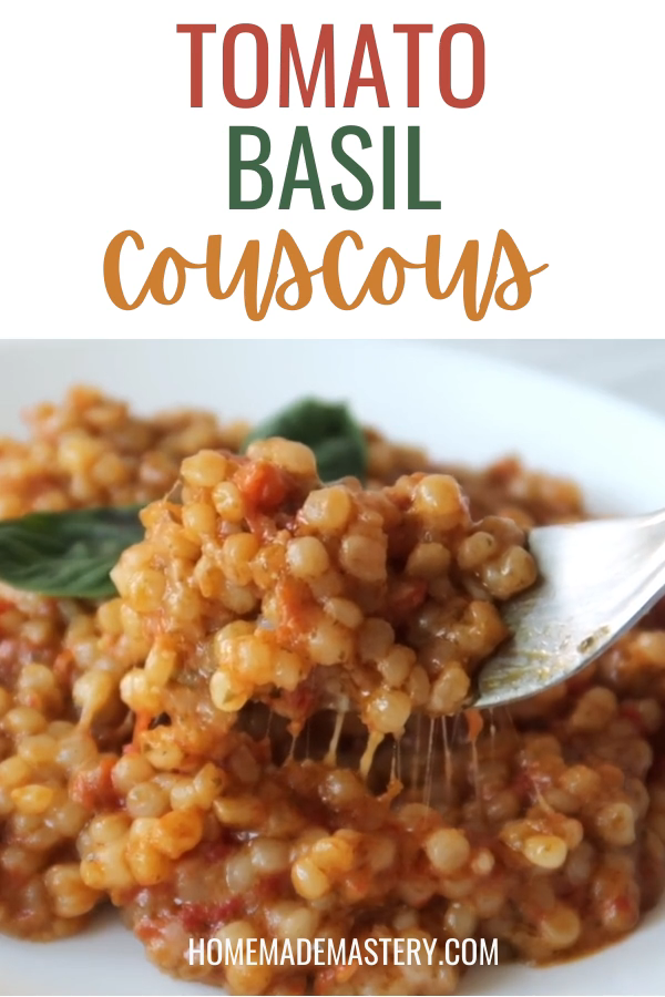 Photo of Tomato Basil Couscous Recipe