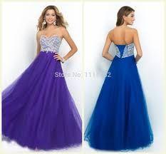 Image result for purple prom dresses 2015