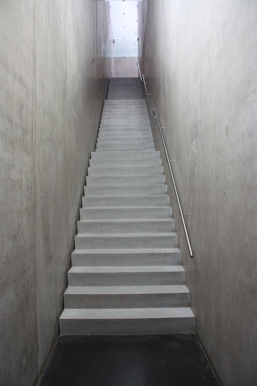 kunsthaus bregenz peter zumthor stairs pinterest treppe und architektur. Black Bedroom Furniture Sets. Home Design Ideas