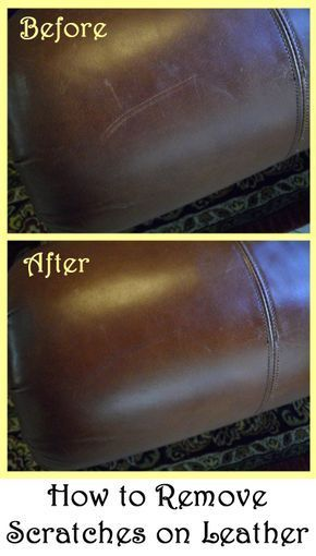 How To Remove Scratches On Leather Diy Cleaning Products