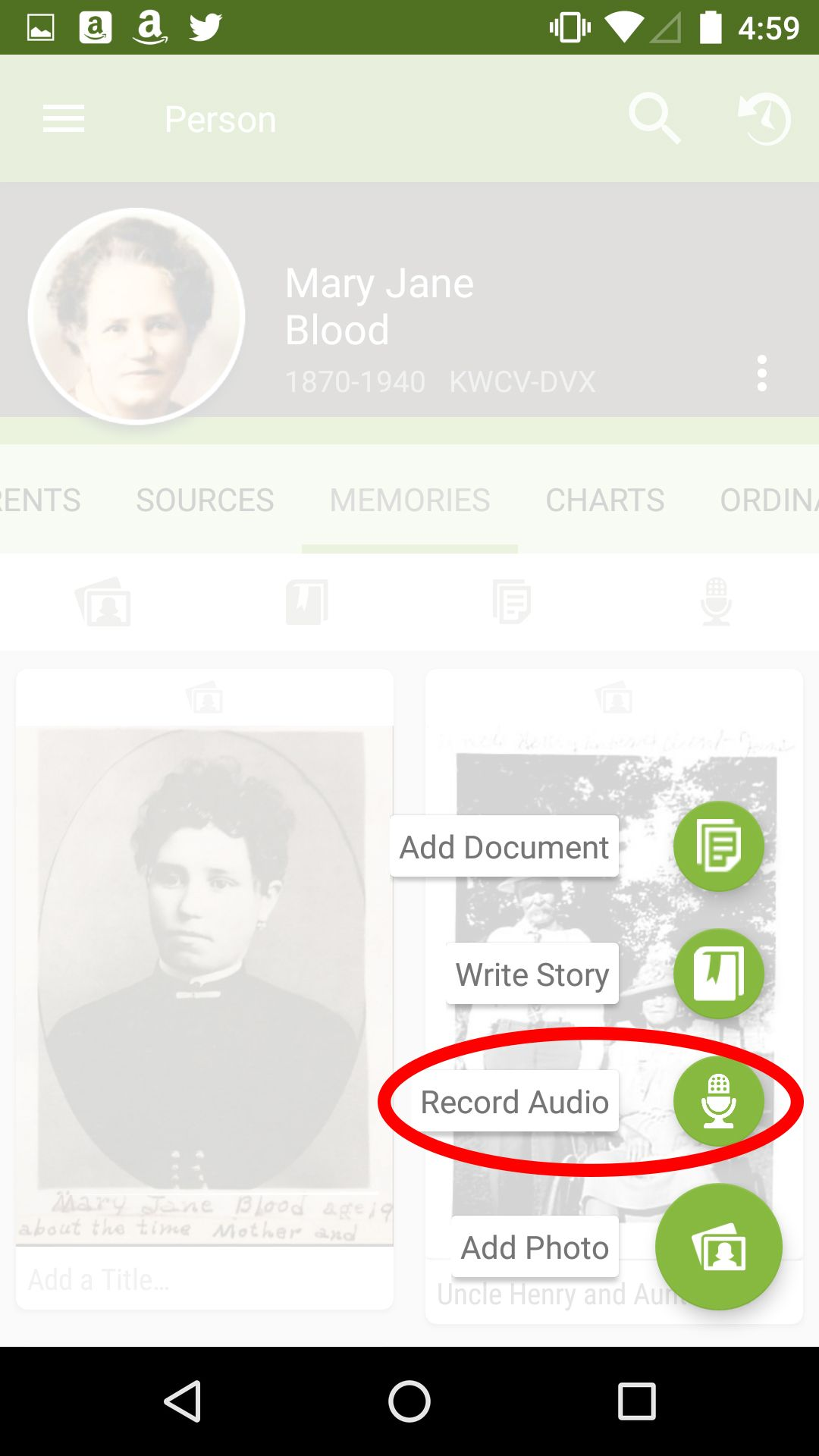 Using FamilySearch Apps to Record Oral Histories | Family History
